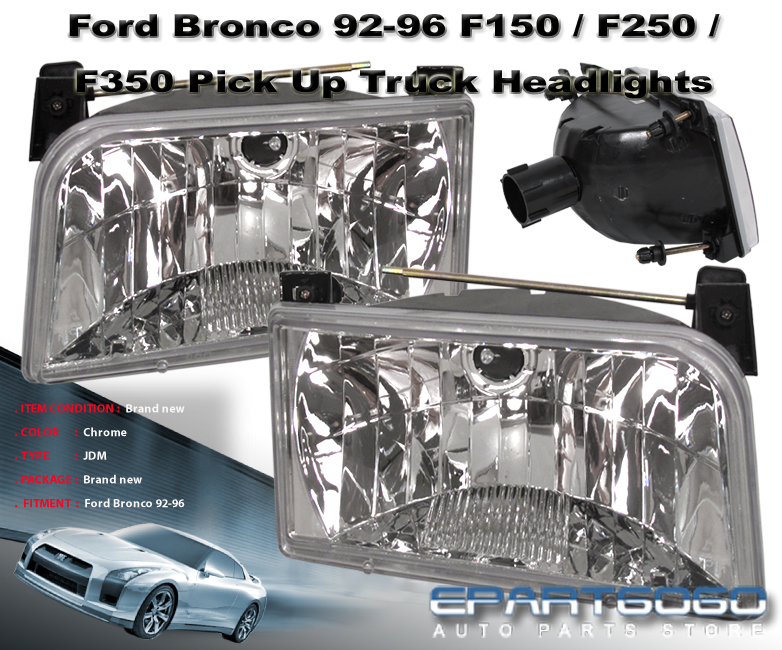 96 Ford Bronco Interior Parts