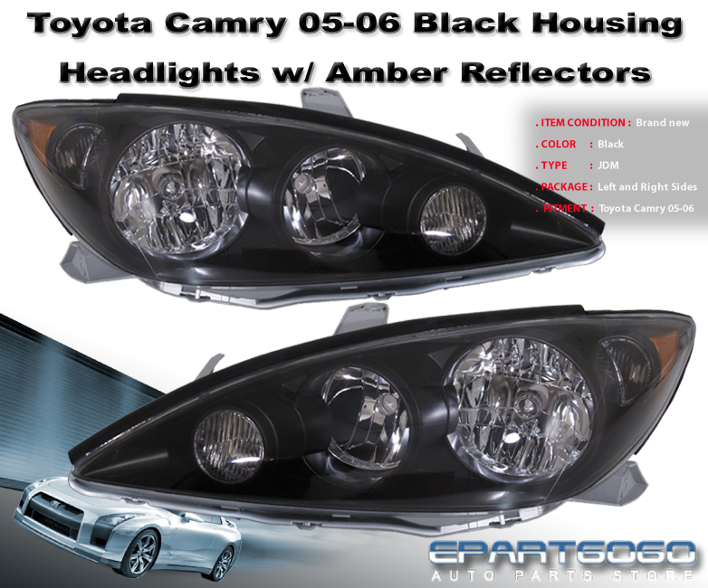 toyota camry 2006 lights toyota camry headlights toyota camry 2002 2006 custom angel eye. Black Bedroom Furniture Sets. Home Design Ideas