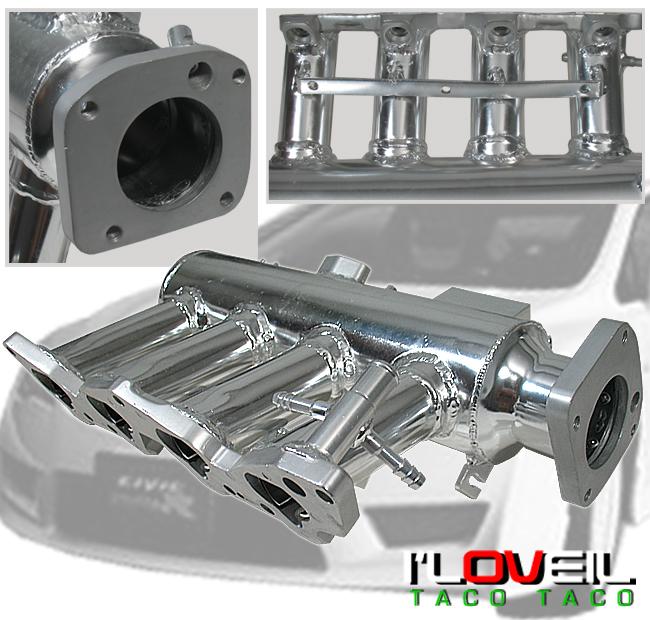 D16 Plastic Intake Manifold: DEL SOL D15 D16 T3T4 TURBO KIT+INTAKE MANIFOLD+RADIATOR
