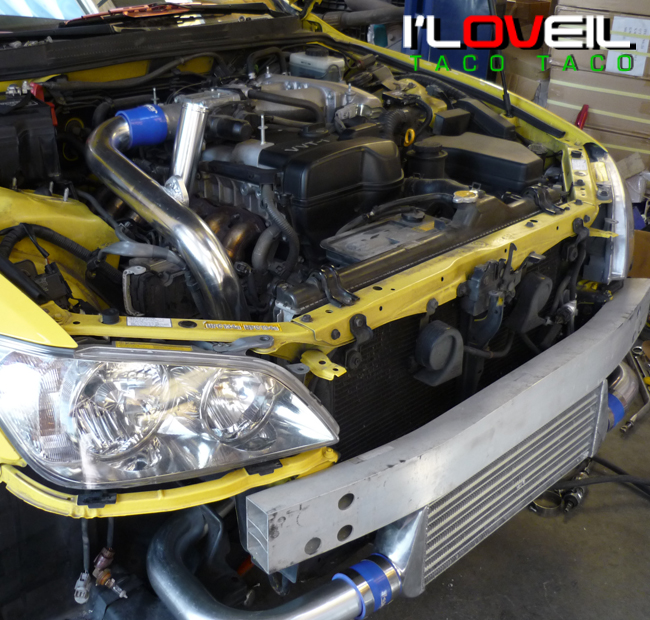 01 05 Lexus IS300 Turbo Intercooler Bolt on Piping Kit on PopScreen