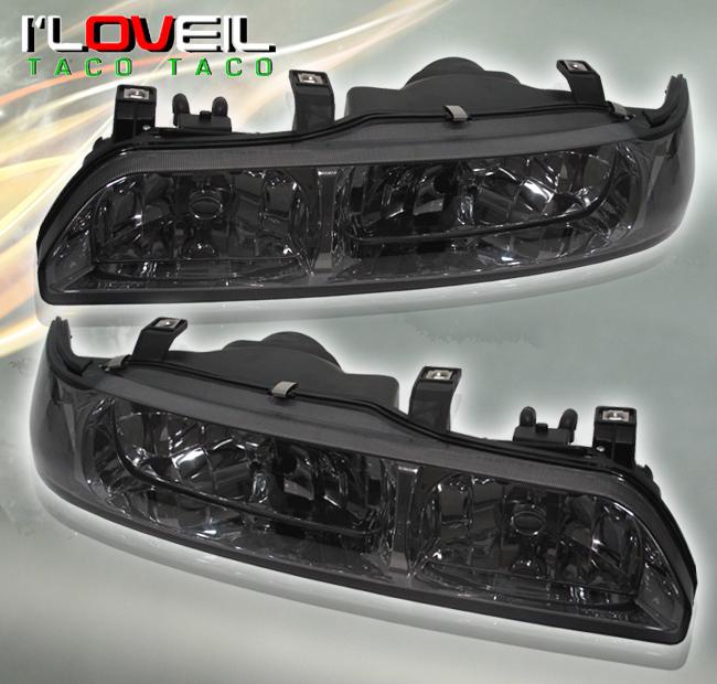 Acura Integra Pcs Crystal Smoke Headlights On PopScreen - 92 acura integra headlights
